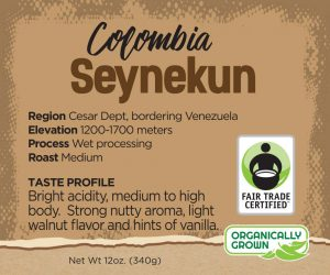 colombian coffee beans - seynekun