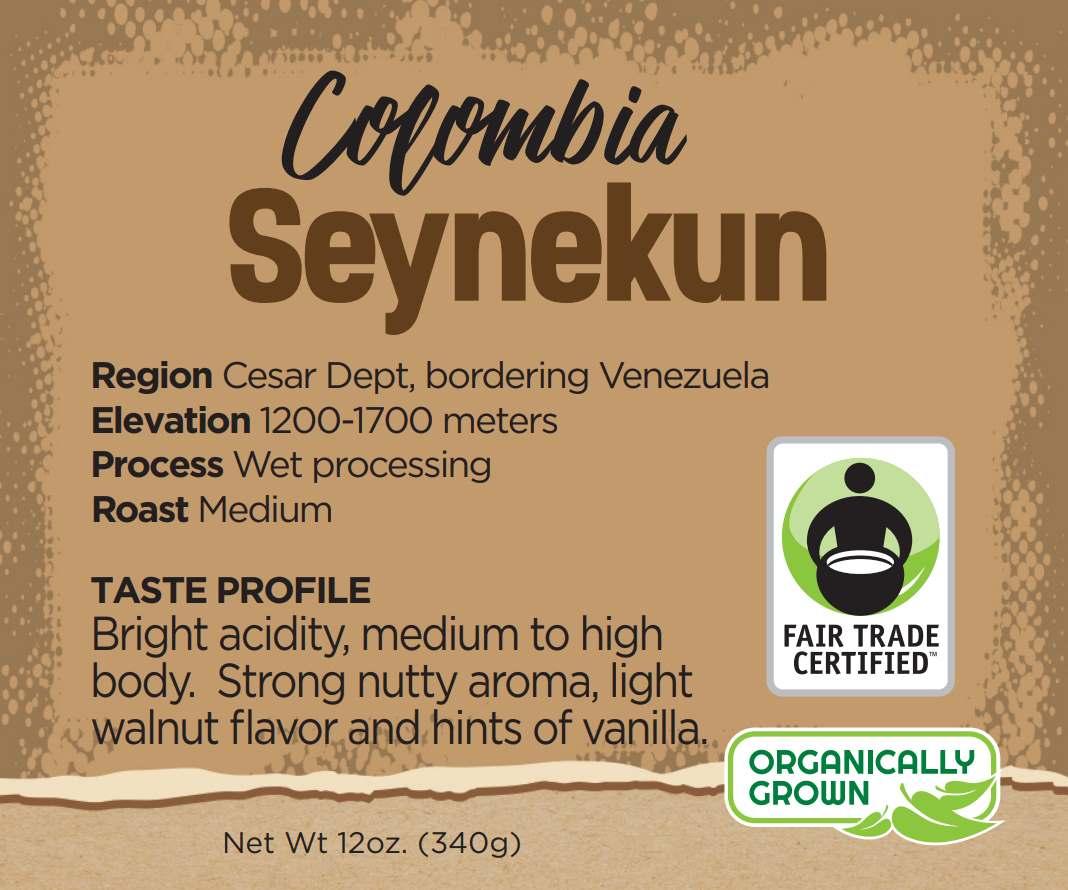 colombian coffee beans - seynekun