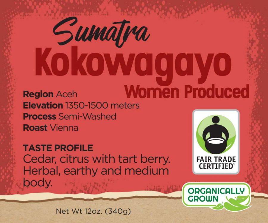 Sumatra coffee - kokowagayo