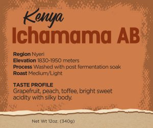 Kenya Ichamama Coffee