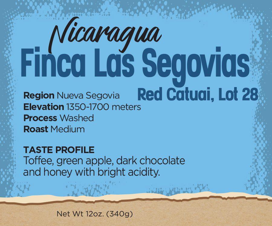 Nicaragua Coffee Beans - Finca Las Segovias